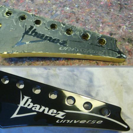 Riparazione paletta chitarra Ibanez